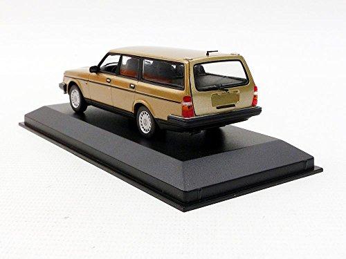 Volvo 240 GL Break - 1986 - Echelle 1/43, Beige Métal