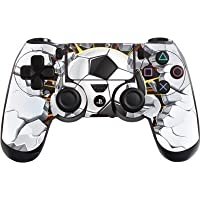 Adesivo per controller Playstation 4 (PS4), motivo: calcio