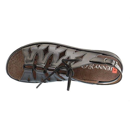 ara , Chaussures de ville à lacets pour femme Noir - Noir