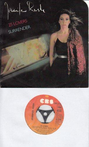25 LOVERS / SURRENDER / 1984 / Bildhülle / CBS # CBS A 4376 / Deutsche Pressung / 7