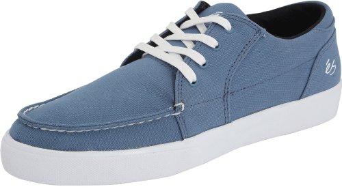 éS HOLBROOK LO Holbrook Lo, Chaussures de skateboard mixte adulte Bleu/blanc
