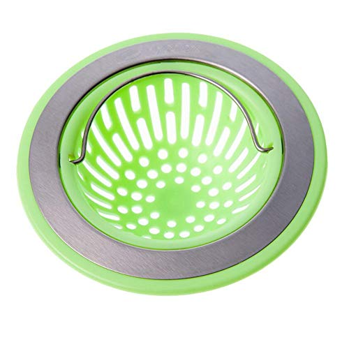 Bathroom Fixtures Bright Silicone Strainer Round Floor Drain Cover Plug Anti-blocking Water Hair Catcher Filter Kitchen Bathroom Pink/green/blue/beige