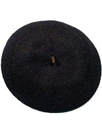 Qiusa Boinas francesas de Lana para Hombre Casual Invierno Otoño Comodidad Pintor  Sombreros (Color   c46284e7a3f