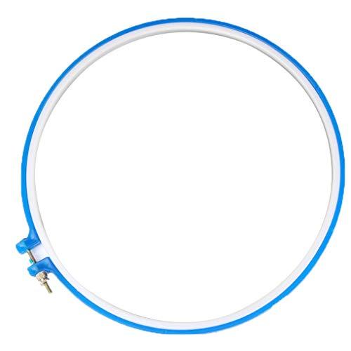 Kreuz-Stich-Hoop Kunststoffrahmen Stickrahmen Ring DIY Näharbeit Maschine Rundschleife Hand Nähen Werkzeuge -