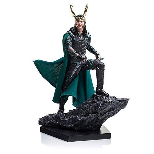 YONG FEI Muñeca Modelo Anime Marvel Avengers Loki en la película Thor Super Hero 25cm Figuras de acción Juguetes Boutique