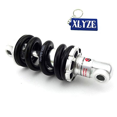 xlyze 125mm 1200LBS Stoßdämpfer Federbein Hinten für 47cc 49cc 2Takt Schmutz Dirt Bike Pocket Bike ATV Quad Scooter