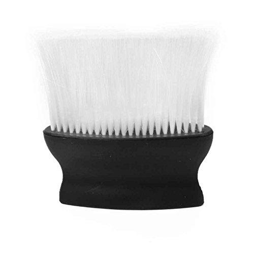 fangfei Negro Peluquero Cepillo para el Pelo Limpio Profesional Suave Cuello de la Cara del Plumero Cepillos