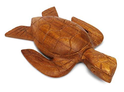 Purity Schildkröte, Holz, Fair Trade, handgeschnitzt, 17 x 12 x 3 cm