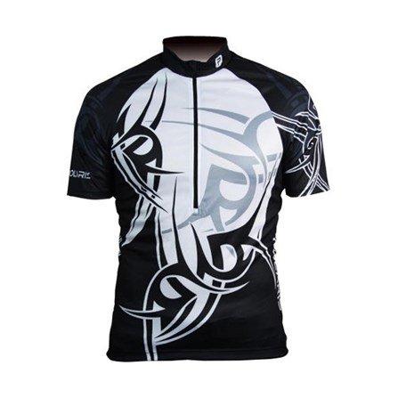 Polaris-Maglietta da uomo con tatuaggi, colore: nero/bianco, taglia: M