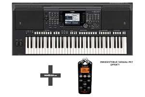 Claviers arrangeurs YAMAHA PSR-S750 + ENREGISTREUR PR7
