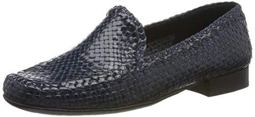 Sioux Damen Cordera Mokassin, Blau (Jeans 008), 38.5 EU