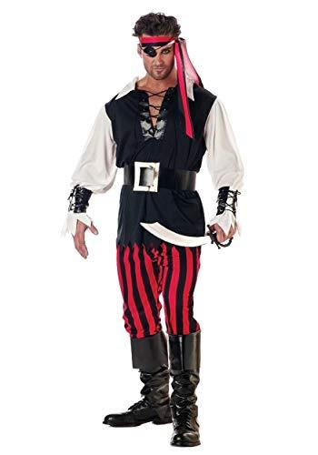 Adult Cutthroat Pirate Fancy Dress Costume ()