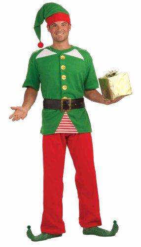 Erwachsenen Kostüme Jolly Elf (Forum Novelties Men's Jolly Elf Kit, Multi, One)