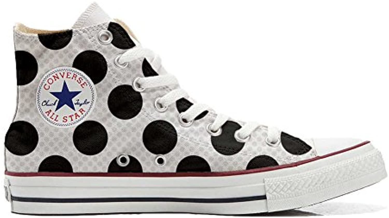 Converse All Star Personalisierte Schuhe (Custom Produkt) a Pois
