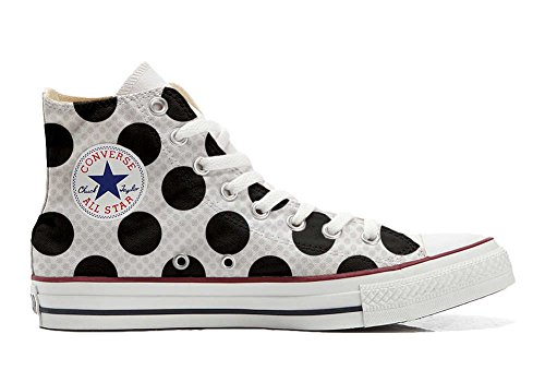 Converse All Star Chaussures Coutume Mixte Adulte (Produit Artisanal) a Pois
