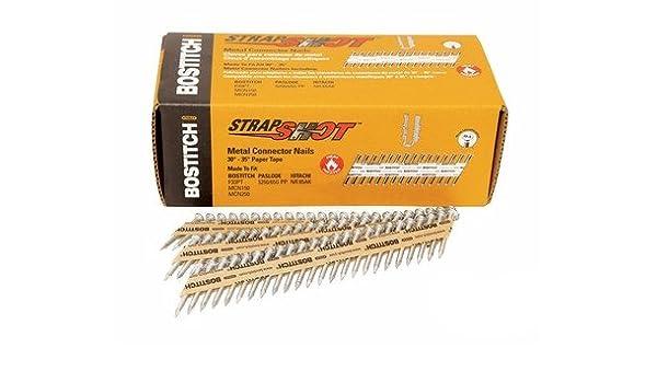 """Bostitch PT-MC13115GAL1M 1-1//2/"""" x .131 35 deg Strapshot Nails New"""