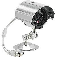 VisorTech - Telecamera di sorveglianza a colori resistente alle intemperie (HAD-CCD, infrarossi)