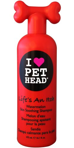 hundeinfo24.de Company of Animals Hunter 47901 Pet Head Lifes an Itch skin soothing Shampoo 475 ml