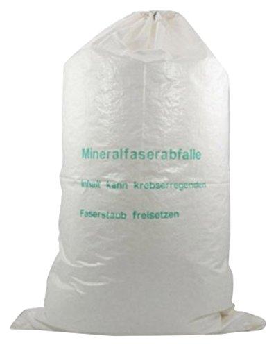 Mineralwoll Saecke Mineralwolle/KMF Bag 220 cm Entsorgung Sack TRGS 521