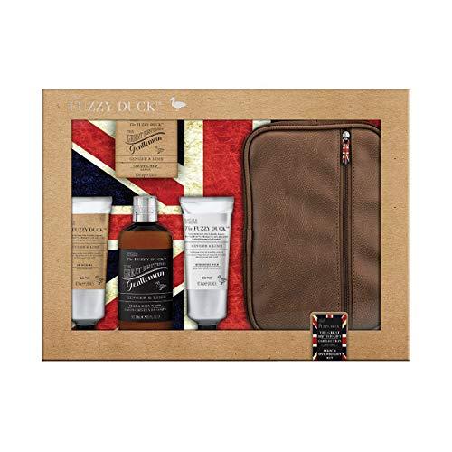 Baylis & Harding Fuzzy Duck Ingwer und Lime Ultimate Herren Grooming Kit Geschenkset, 6er Pack(6 x 1 Stück) -