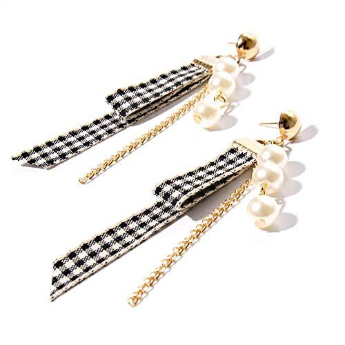 Kette Quaste Ohrringe Für Frauen Party Kostüm Lange Ohrhänger Koreanischen Schmuck Geschenk ()