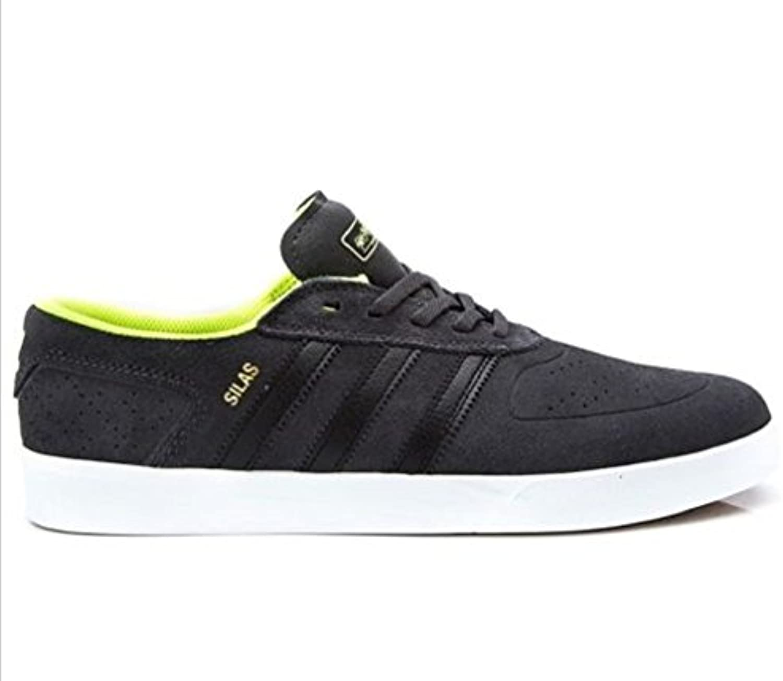 Adidas Silas Vulc Adv - dgsogr/cblack/syello, Größe Adidas:7.5 -