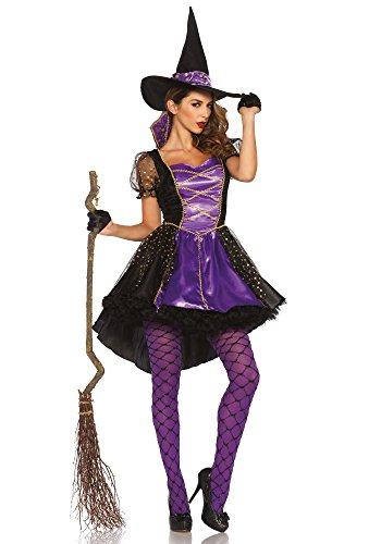 Leg Avenue 85378 - Crafty Vixen Damen kostüm , Größe M/L (EUR 38-40) (Königin Bösen Halloween-kostüme)