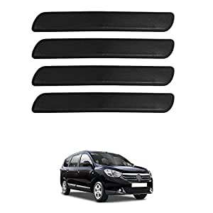 Motor Duniya Car Safety Bumper Guard Protector All Black for Renault Lodgy