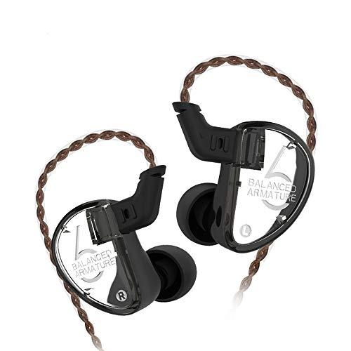 KZ AS06 Auriculares KZ Triple Driver 3BA in-Ear Monitores
