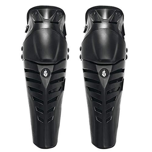 Moto e Bicicletta Motocross Gomito Ginocchio Protezioni parastinchi Kit di Protezione HEIRAO 4 Pezzi Ginocchiere Moto Gomito