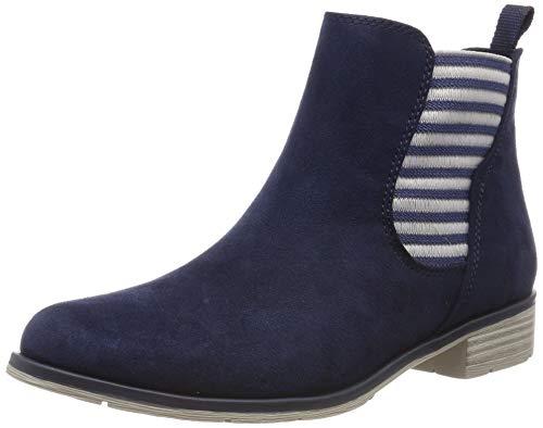 MARCO TOZZI Damen 2-2-25305-32 Chelsea Boots, Blau (Navy 805), 36 EU