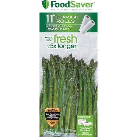 FoodSaver 11 in x 16 ft Roll, 2-Pack by FoodSaver