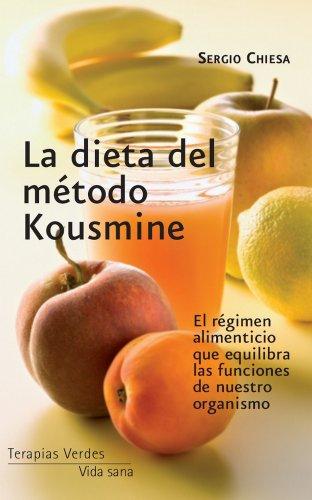 Descargar Libro La dieta del método Kousmine (Vida sana) de Sergio Chiesa