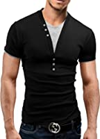 MERISH 2 in 1 Shirt Slim Fit Poloshirt Hemd T-Shirt 5 Farben 24
