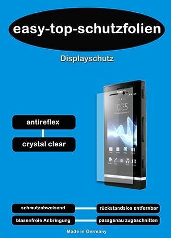 3x easy-top-schutzfolien Crystal Clear Display Schutzfolie (kristallklar) passend für Kodak EASYSHARE