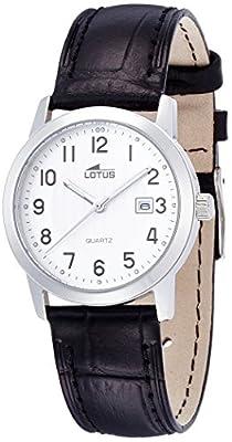 Lotus Reloj de cuarzo para mujer con piel 15621/1
