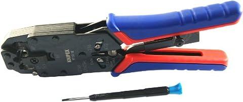 Knipex 975112SB Crimpzange für Westernstecker 1531840