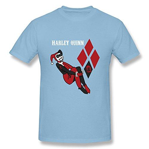 Catees Herren T-Shirt Gr. M, Blau - Skyblue