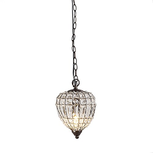 qazqa-country-rustic-pendant-lamp-pendant-light-perlina-2-clear-polyester-round-suitable-for-led-e14