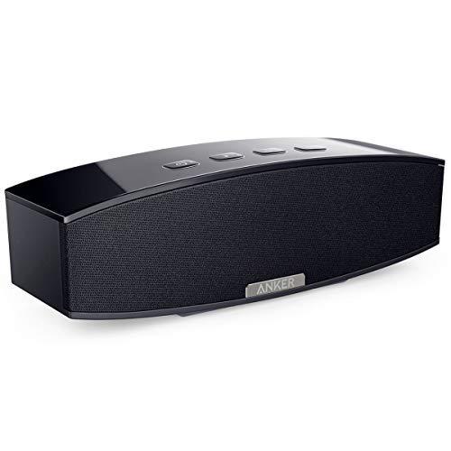 Anker Speaker Stereo Premium Bluetooth Portatile (A3143), Uscita Audio da 20W, con Due Subwoofer Passivi, Altoparlante Portatile per iPhone, iPad, Samsung, Nexus, HTC e Altri.