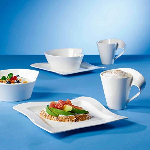 Villeroy & Boch NewWave Frühstücksteller, Quadrat, 24 x 24 cm - 3