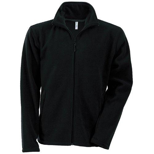 Kariban falco - giacca in pile - uomo (xl) (nero)