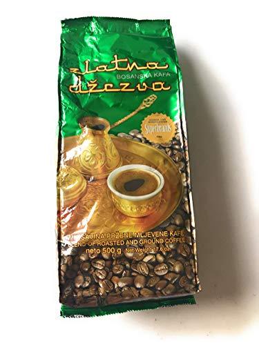 Zlatna Dzezva Bosanska Kava mljevena - Kaffee gemahlen 500g