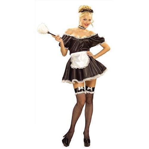 Fifi The French Maid (Fifi Für Erwachsenen Kostüm)