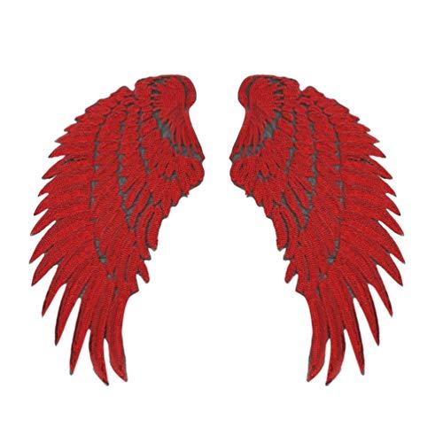 Healifty lentejuelas parches alas ángel parches bordados