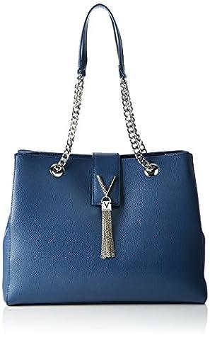 Valentino by Mario Valentino Damen Divina Tote, Blau (Blu), 14.0 x 28.5 x 36.0 cm