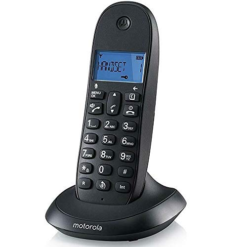 Telefono Cordless Dect Motorola C1001 LB+ Display Digitale