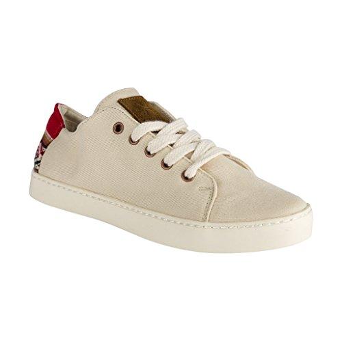 Dindes, Sneaker Unisexe - Adulte Ecru