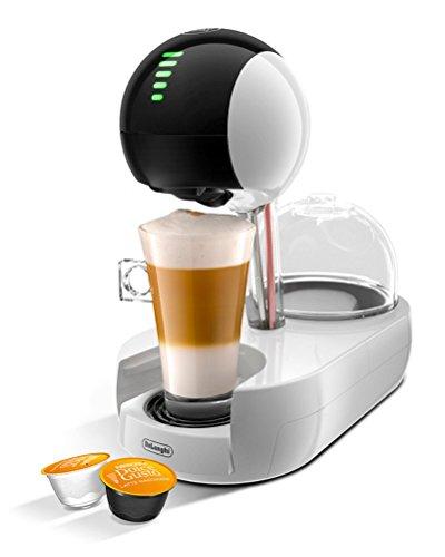 DeLonghi Nescafé Dolce Gusto Stelia Touch to Create Automatic White Coffee Machine by DeLonghi EDG635.W