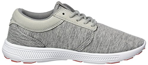 Supra Hammer Run, Pantofole Donna Grigio (Grey-White)